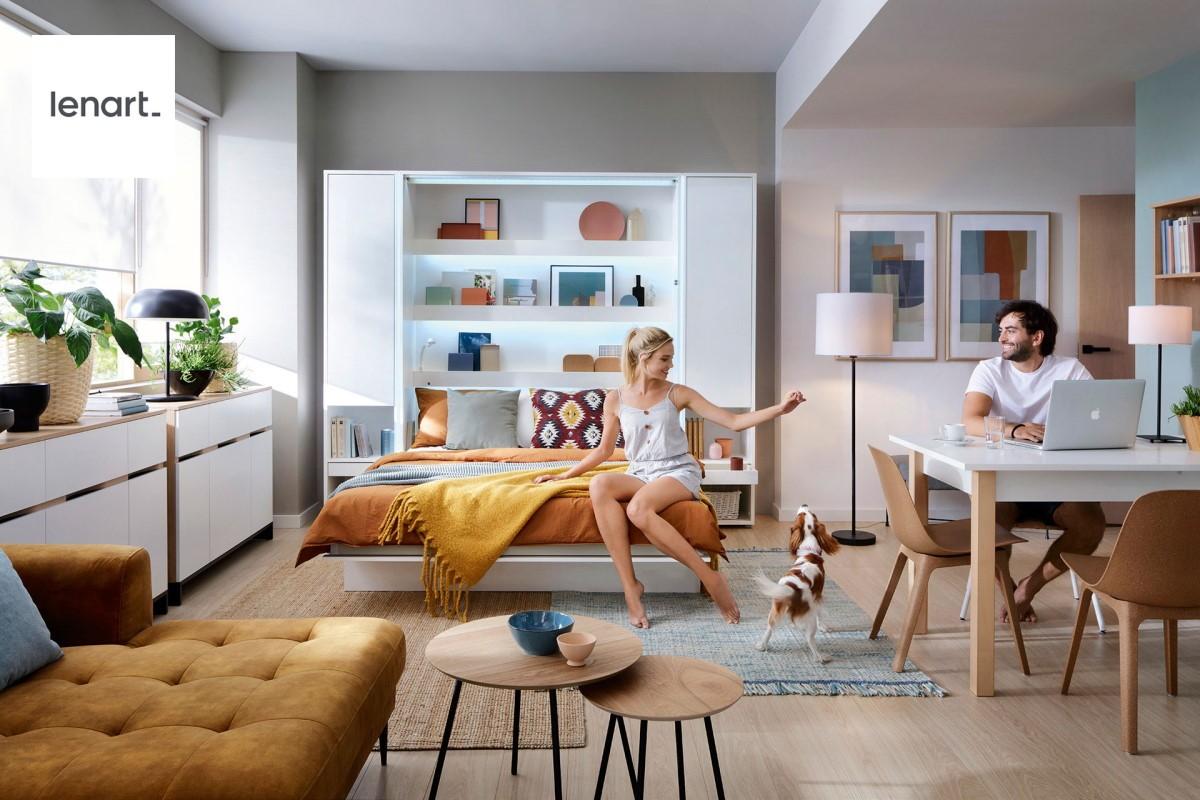 Pakeliamos lovos spintoje